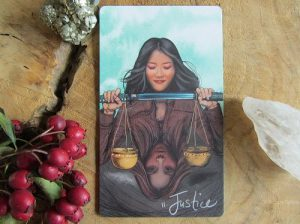 Tarotkaart Justice Light Seer's Tarot