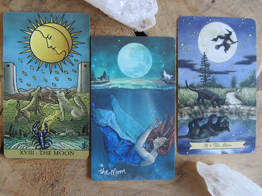 Tarotkaart De Maan betekenissen